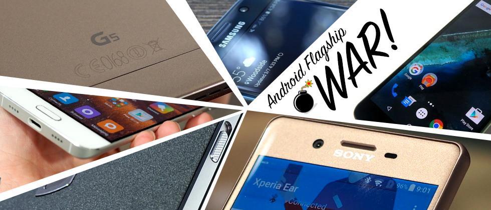Android phone hero war: Flagship VS Flagship