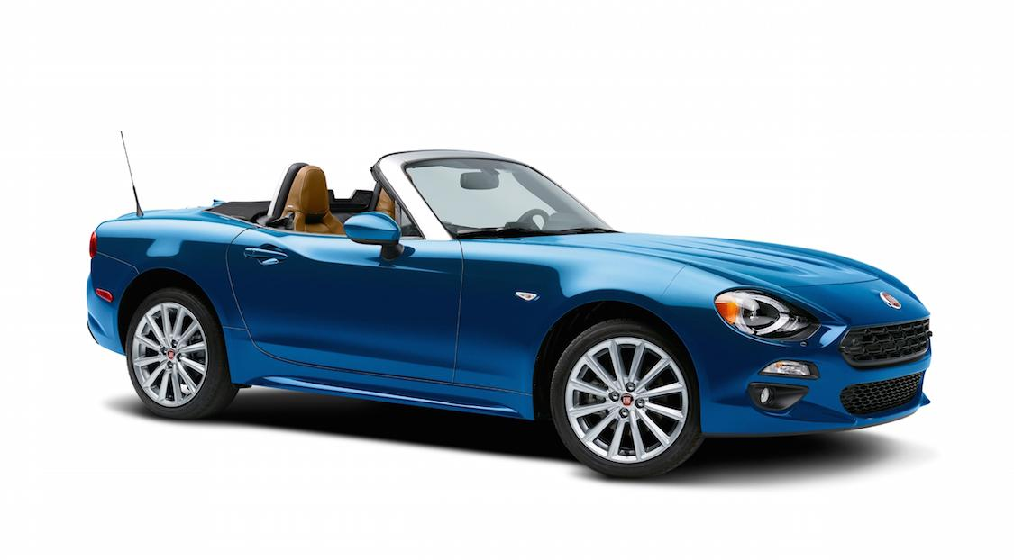 2017 Fiat 124 Spider priced, just as affordable as a Miata