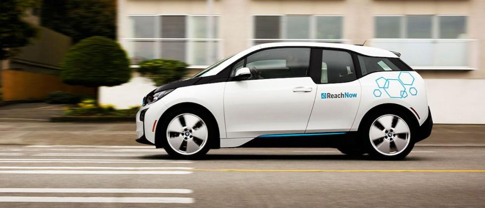 BMW car-sharing service ReachNow debuts in Seattle