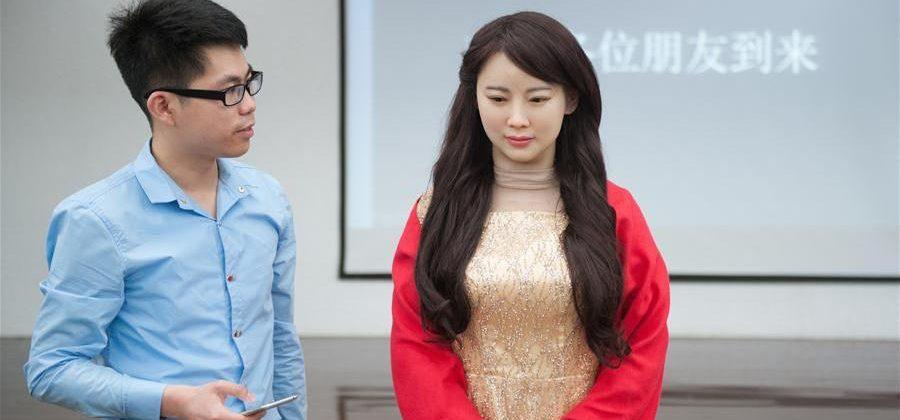 Meet Jia Jia, China's realistic talking robot