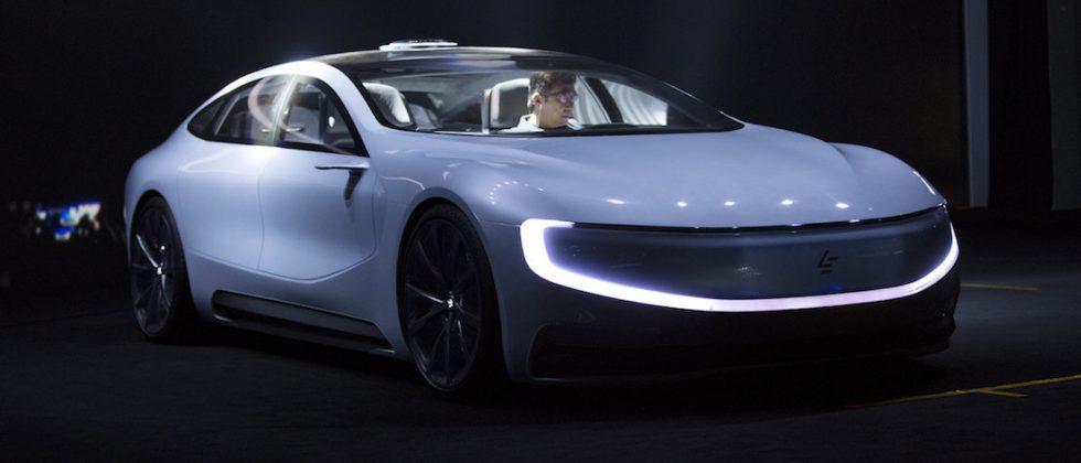 China's LeEco reveals Tesla-challenging autonomous EV