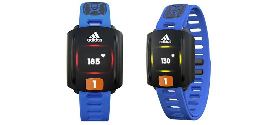 Adidas Zone is a durable heart rate wearable for kids