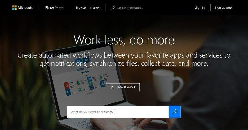 Microsoft Flow to be an IFTTT for very serious business