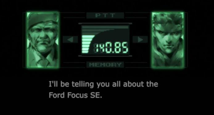 Metal Gear hero Solid Snake stars in goofy new Ford ads