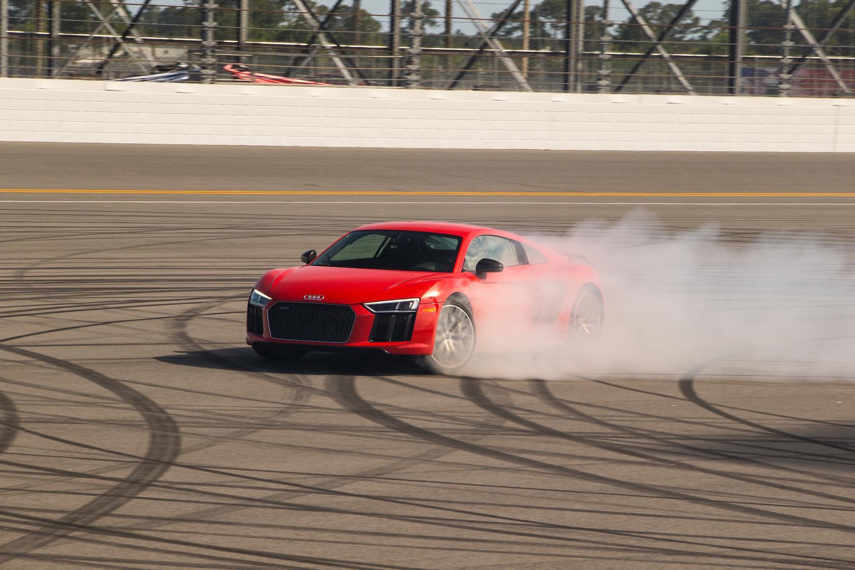 2017 Audi R8 V10 Plus at Daytona International Speedway