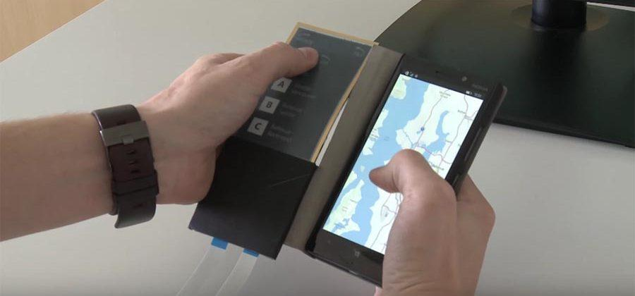 'FlexCase' project puts e-ink secondary display inside phone case