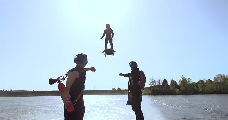 This real hoverboard can soar at 93 mph