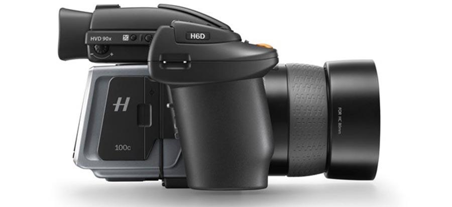 Hasselblad H6D medium-format cameras top out at 100MP