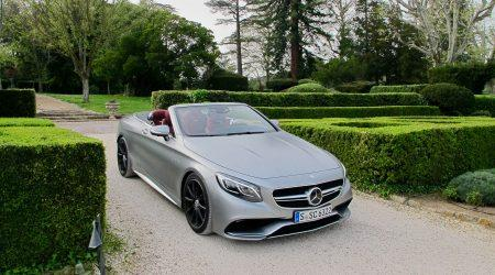 2017 Mercedes-Benz S-Class Cabriolet and S63 AMG Cabriolet Gallery