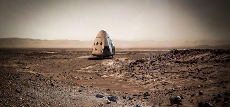 SpaceX plans to be on Mars as early as 2018