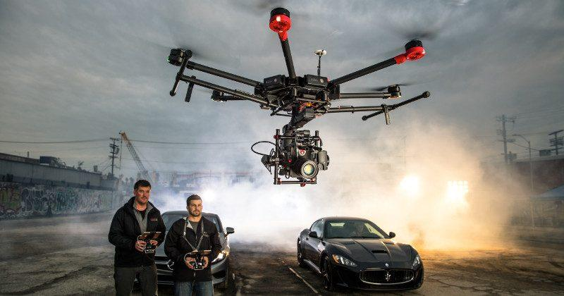 DJI Matrice 600 M600 drone offers muscles for pro filmmakers