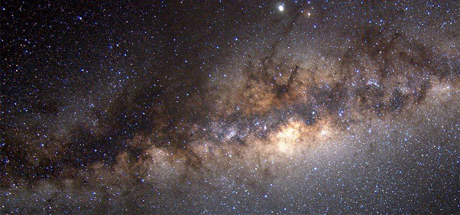 Dwarf galaxy's sudden arrival near Milky Way surprises researchers