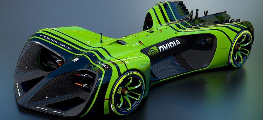NVIDIA Drive PX 2 is the AI brain of Roborace autonomous race cars