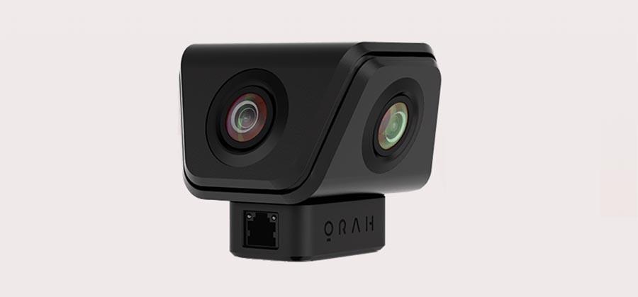 Orah 4i camera livestreams 4K VR videos with 3D audio