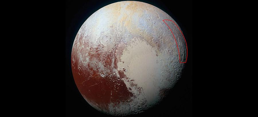 Pluto's 'ice spider' is NASA's most striking find this month
