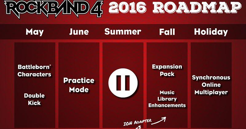 Rock Band 4 gets online multiplayer, ION Drum Kit adapter for Xbox One
