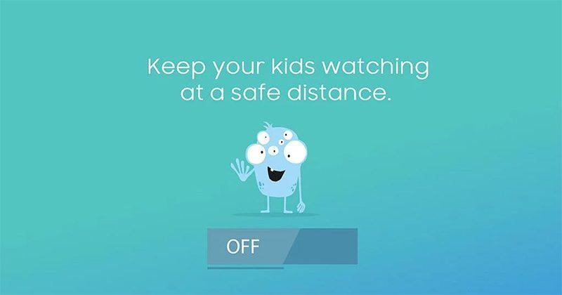 Samsung protects your kids' eyes with Safety Screen app