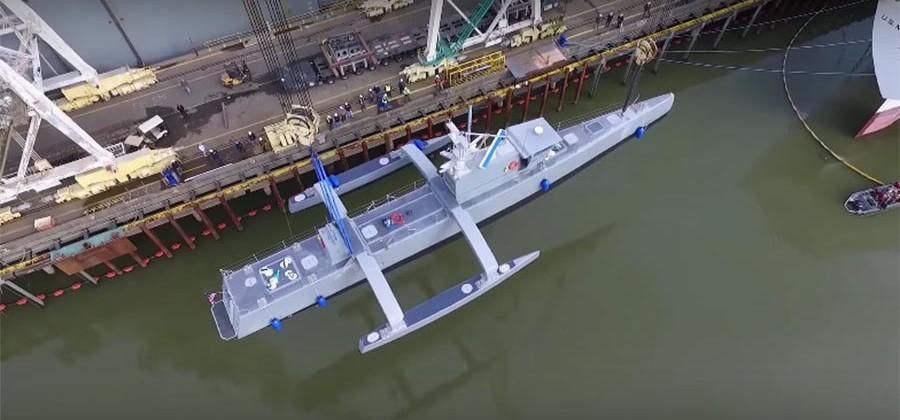 US Navy's autonomous warship will soon trawl the seas