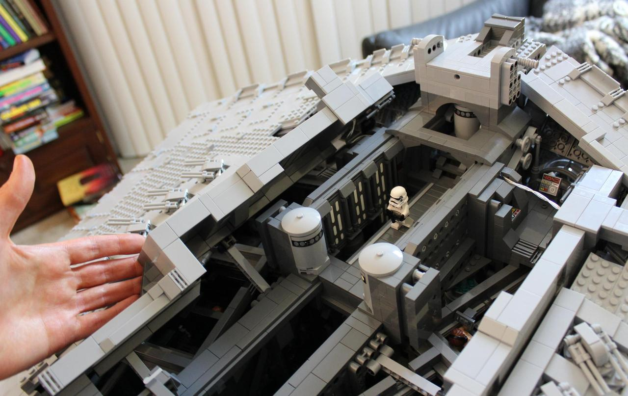 This Lego Star Destroyer Has A Full Interior Complete With
