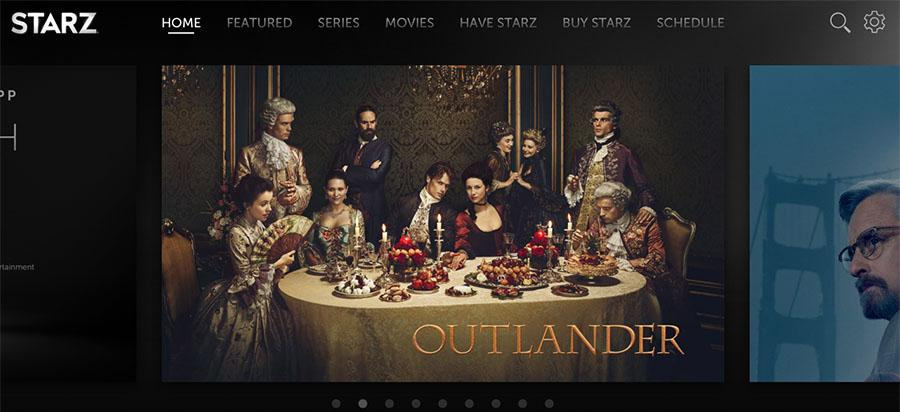 Starz's new streaming service launches with offline viewing