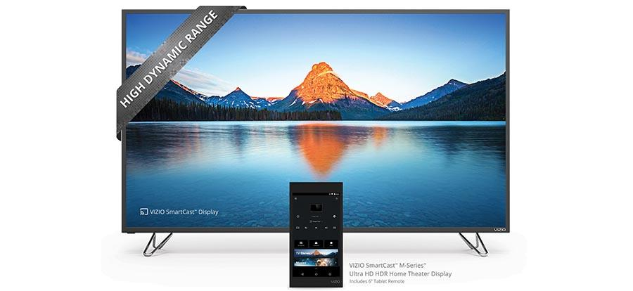 Vizio 2016 M-Series TVs bring Android Tablet Remote with SmartCast