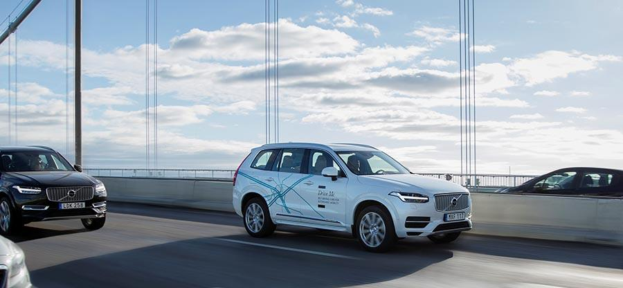 Volvo will perform China's most advanced self-driving car tests