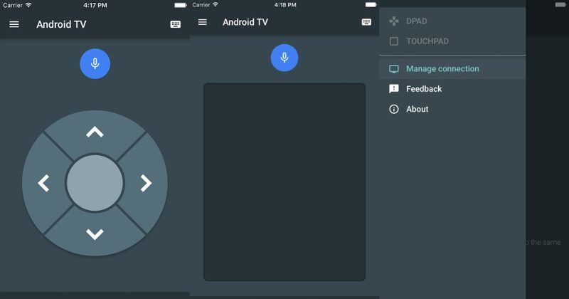 Google releases an Android TV app … for iOS