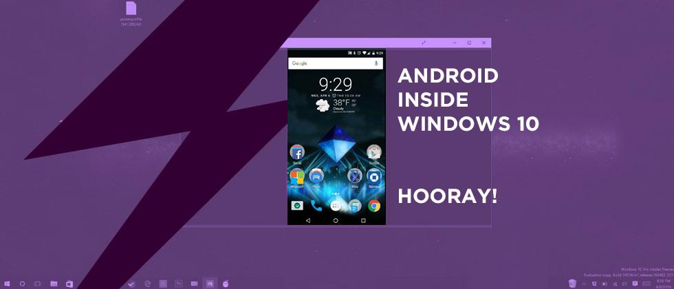 Windows 10 adopts Android Continuum (sort of)