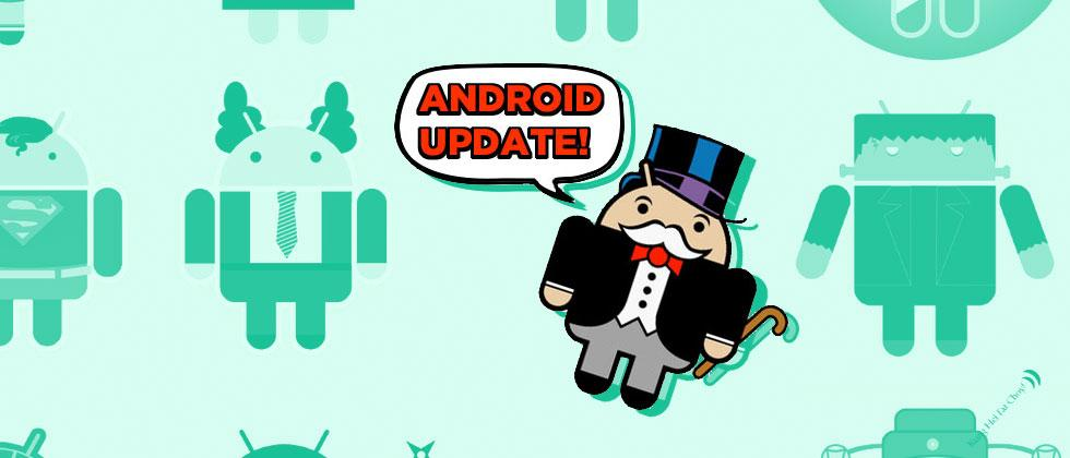 Google fulfilled their Android update promise to me, at last!
