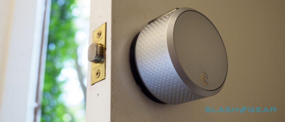 August Smart Lock HomeKit enabled Review: Siri, lock my door