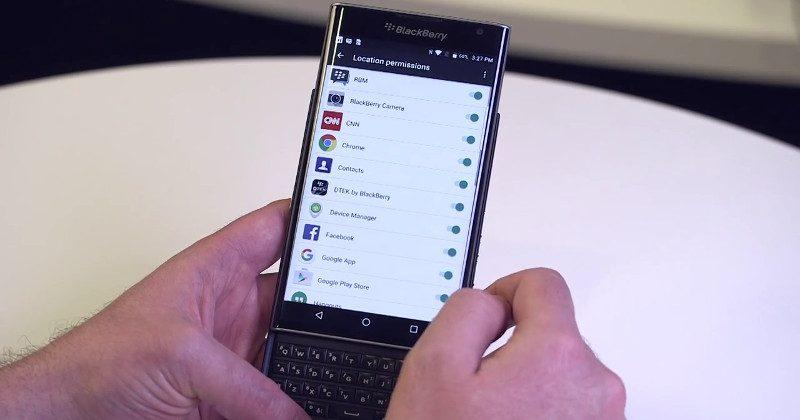 BlackBerry rolls out Android 6.0 for Priv with more features