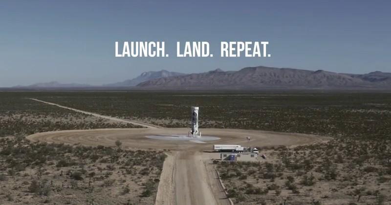 Blue Origin shares video of important third landing