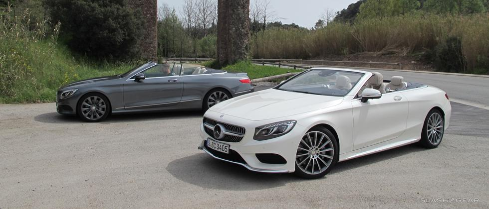 2017 Mercedes-Benz S-Class Cabriolet and S63 AMG Cabriolet First Drive
