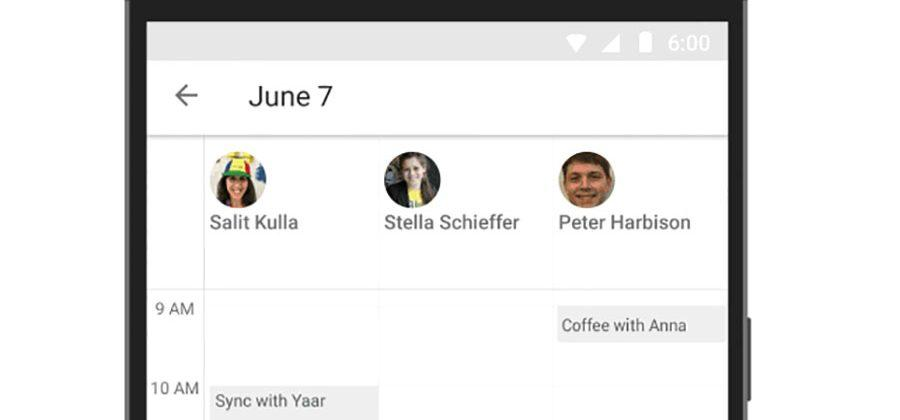 Google Calendar for Android finds the perfect meeting time