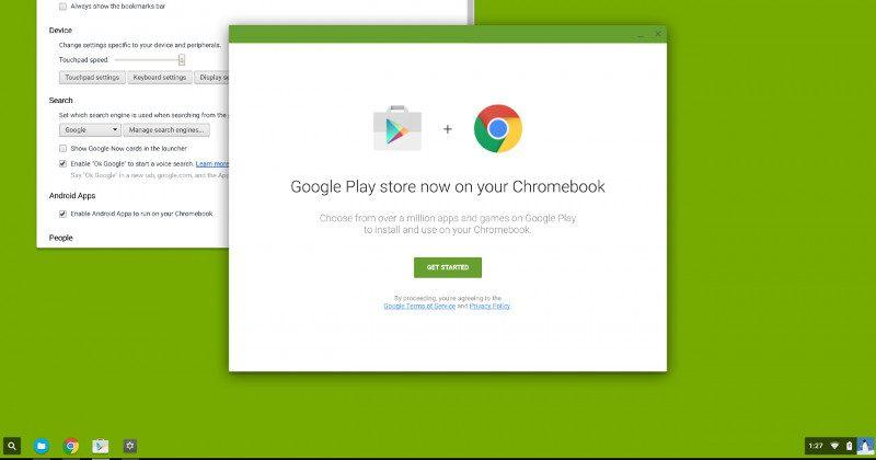 Chrome OS could soon have full Google Play Store support