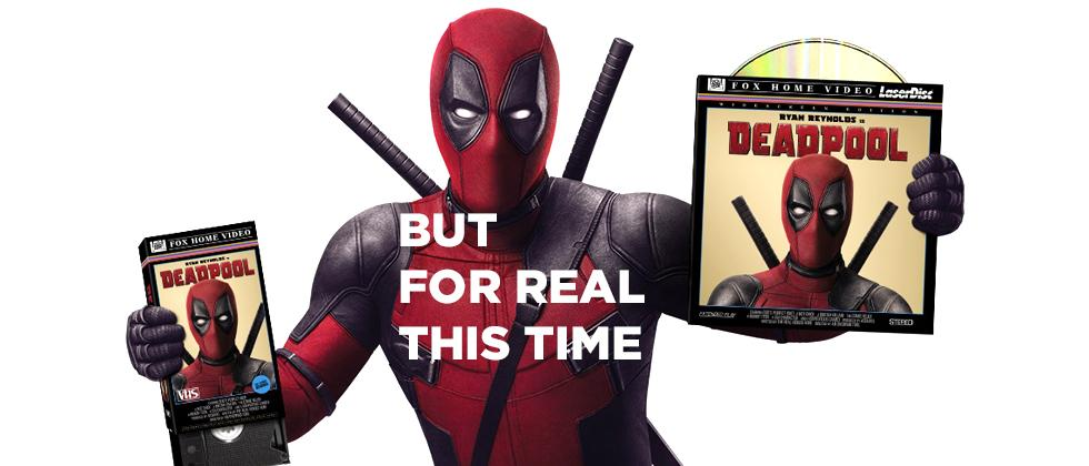 Deadpool DVD and 4K Blu-ray release detailed