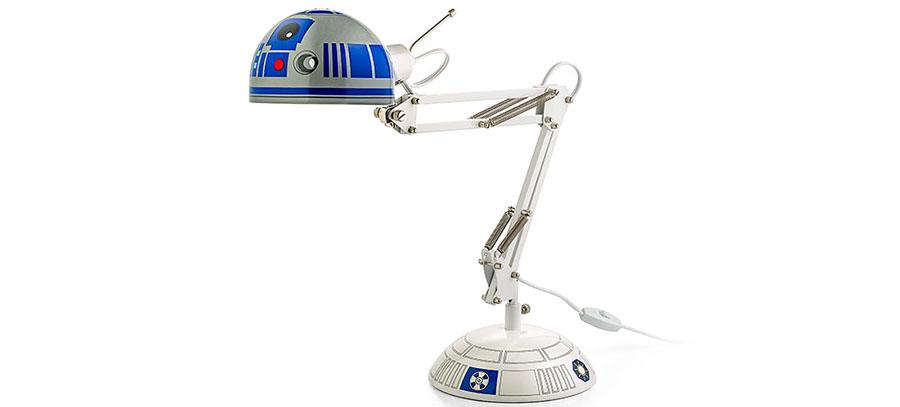 R2-D2 Architectural Desk Lamp is a droid for your studies