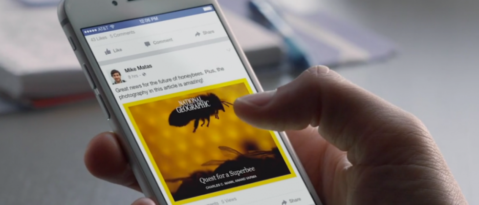 Facebook tweaks News Feed to adjust which articles you see