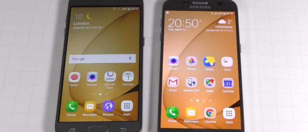 Spot the differences between a real and a fake Galaxy S7