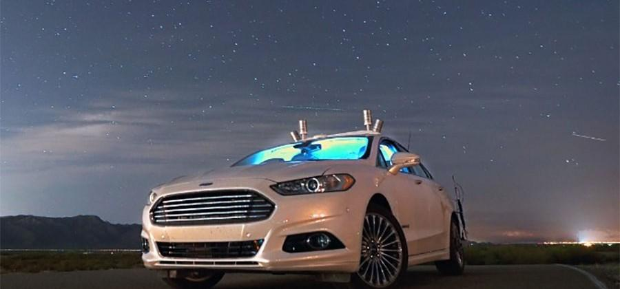 Ford Fusion Autonomous vehicles use LiDAR to see in the dark
