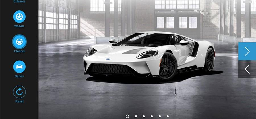 Ford GT configurator opens letting us lust after Ford's supercar