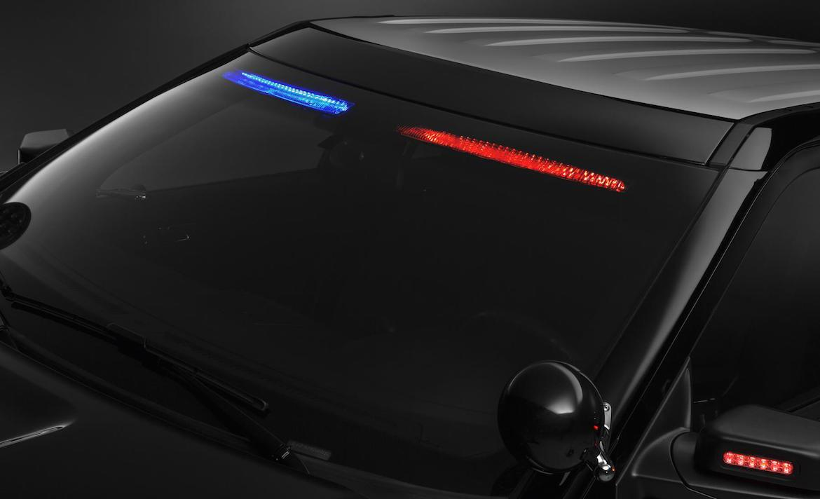 Ford's new police car goes stealthy by hiding the light bar