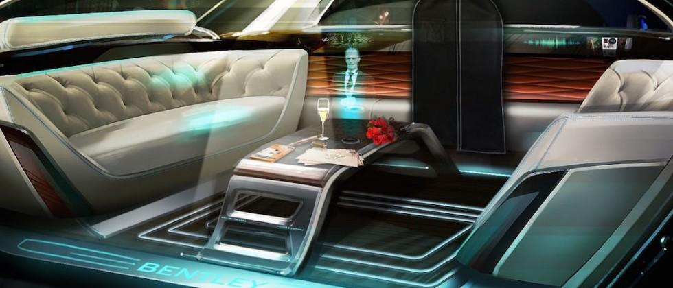 Bentley imagines holographic butler as the ultimate luxury in autonomous driving