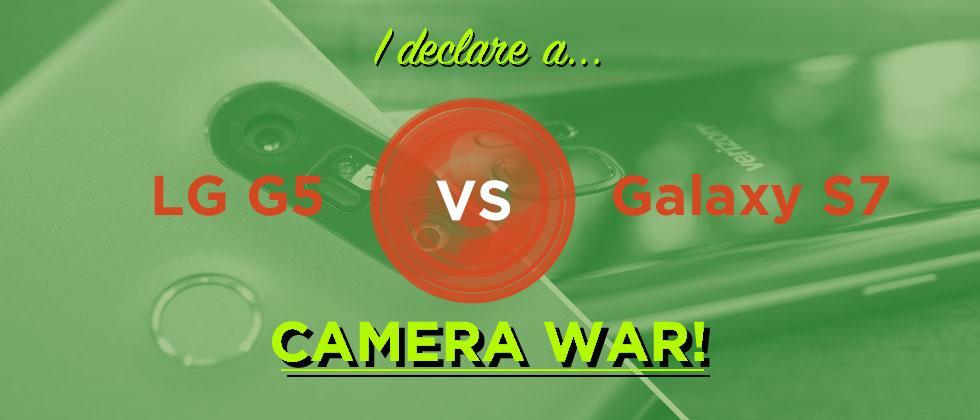 LG G5 vs Galaxy S7 camera WAR