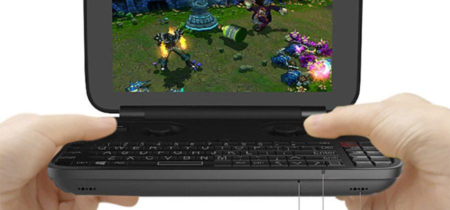GPD Win Intel Z8550 is a Windows 10 game console that fits in a pocket