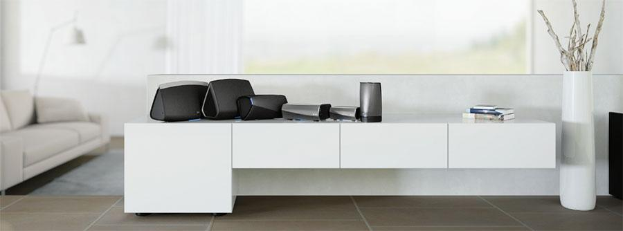 Denon HEOS wireless multi-room audio system upgrade supports high-res audio files