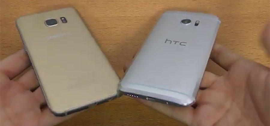 Galaxy S7 Edge battles HTC 10 in speed tests