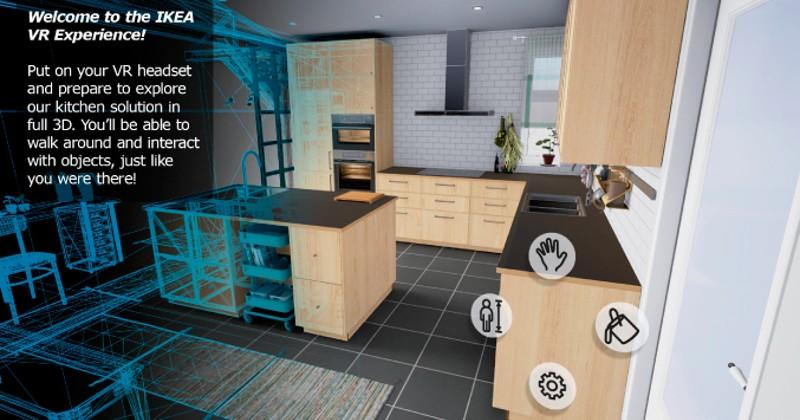 Excellent Ikea Vr App Uses An Htc Vive To Design Your Dream Kitchen Home Interior And Landscaping Eliaenasavecom