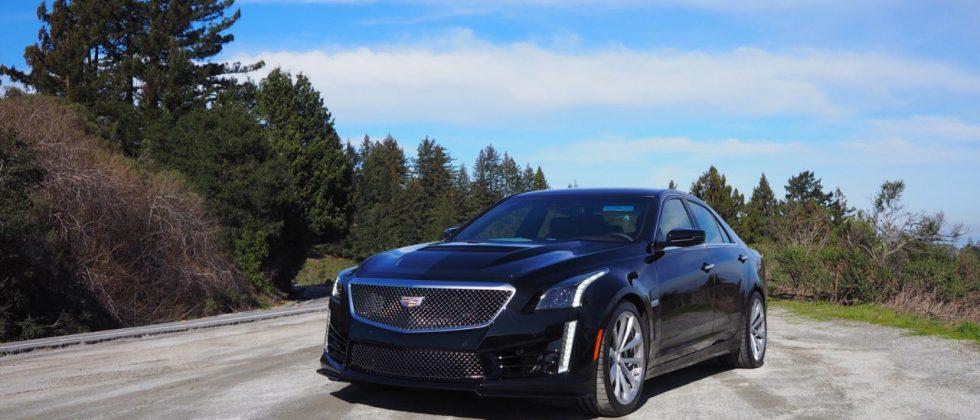 2016 Cadillac CTS-V Review: Darth Vader's ride
