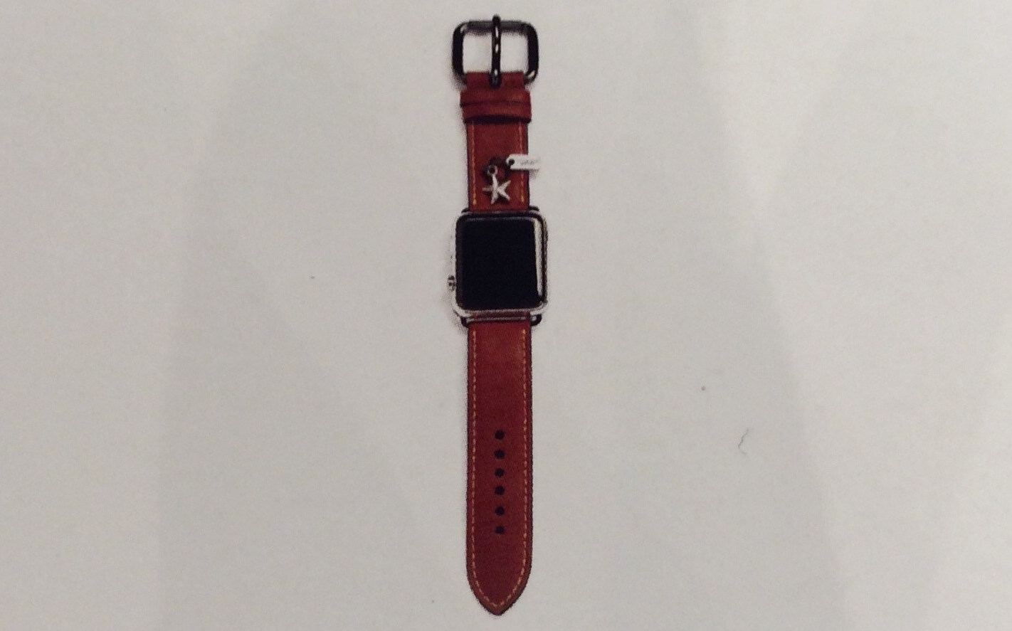 Coach leather Apple Watch bands coming in June